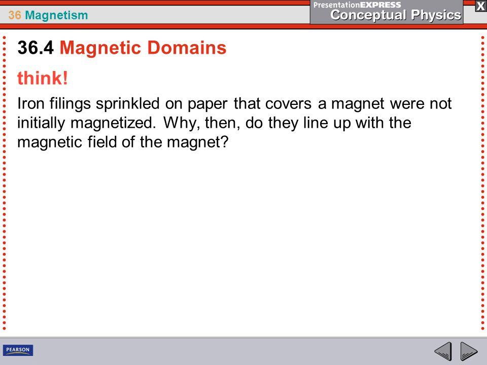 36 Magnetism think.
