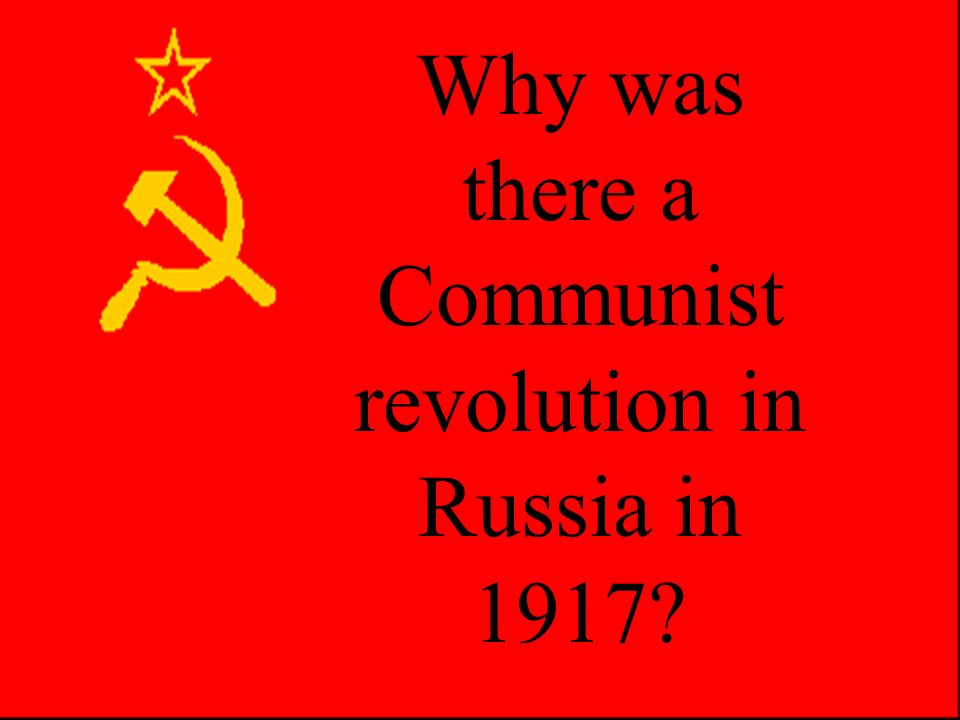 The February Revolution 1917 Russia fared so badly in the First World War there was a spontaneous uprising against the Tsar in February 1917.