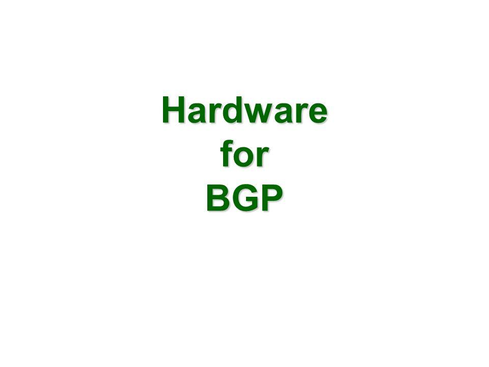 Hardware for BGP