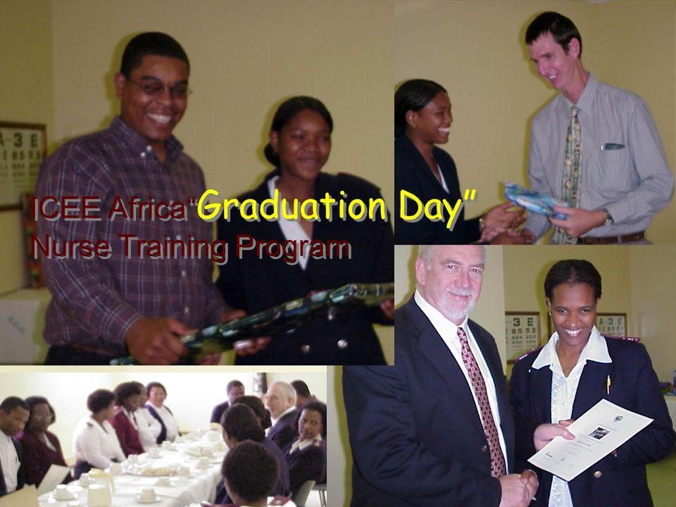 ICEE Africa Graduation Day Nurse Training Program
