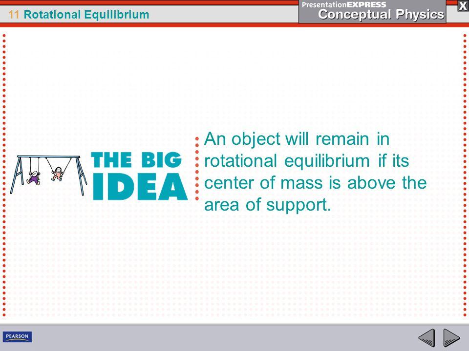 11 Rotational Equilibrium think.
