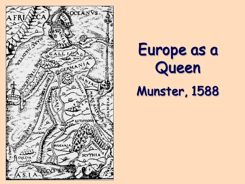 Europe as a Queen Munster, 1588 Europe as a Queen Munster, 1588