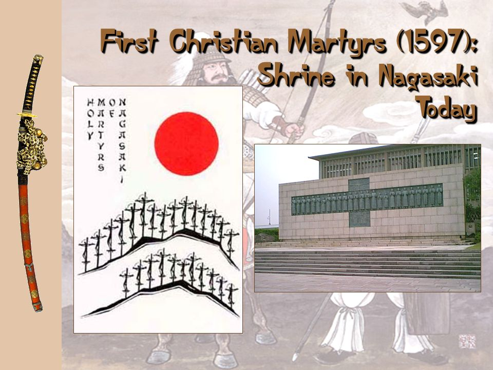 Toyotomi Hideyoshi (1536-1598) a a Becomes suspicious of European territorial ambitions. Orders all European missionaries expelled from Japan. a a Tri