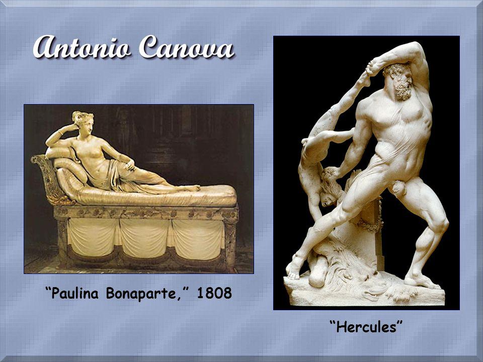 Antonio Canova Paulina Bonaparte, 1808 Hercules