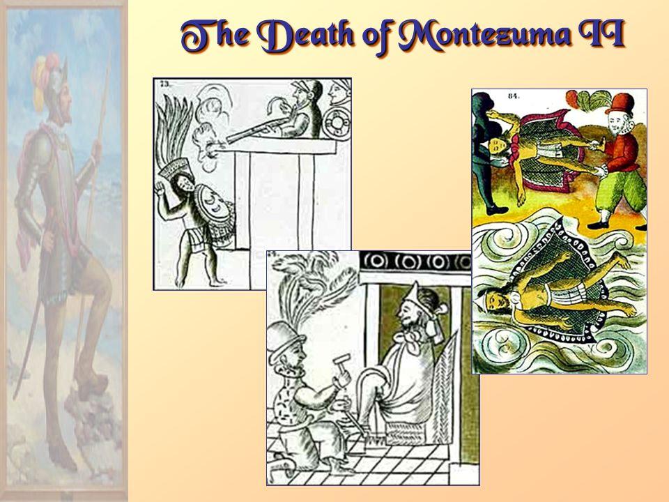 The Death of Montezuma II