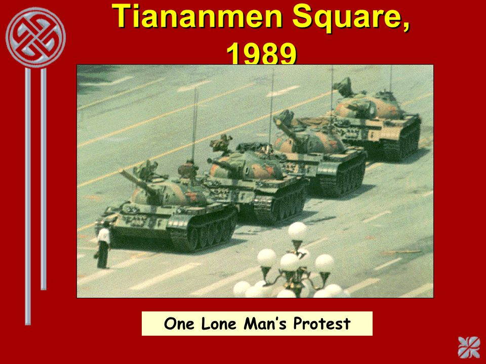 Tiananmen Square, 1989 One Lone Mans Protest