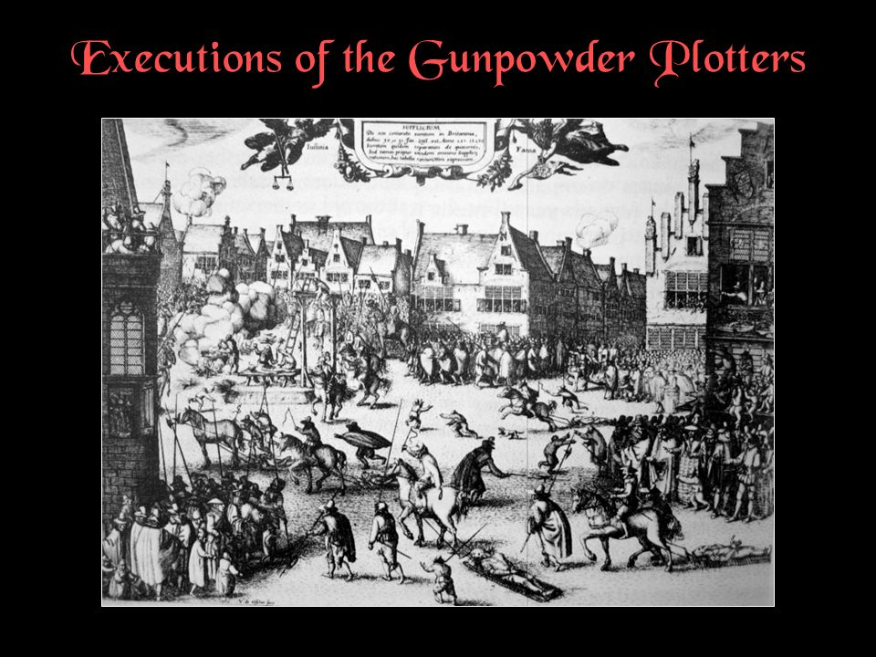 Executions of the Gunpowder Plotters