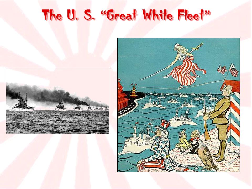 The U. S. Great White Fleet The U. S. Great White Fleet