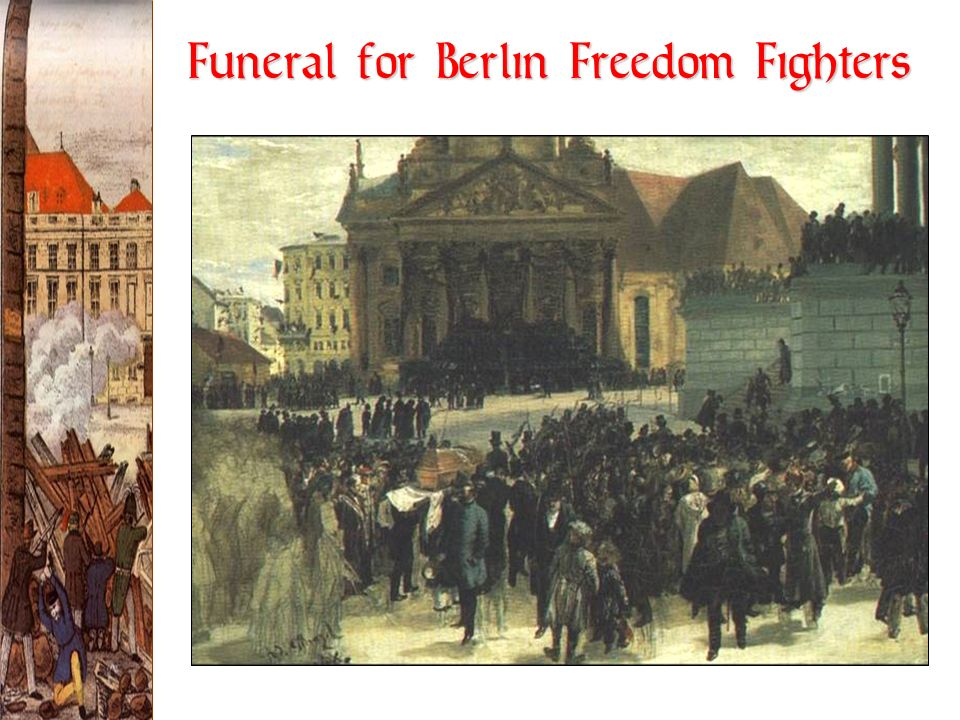 Funeral for Berlin Freedom Fighters