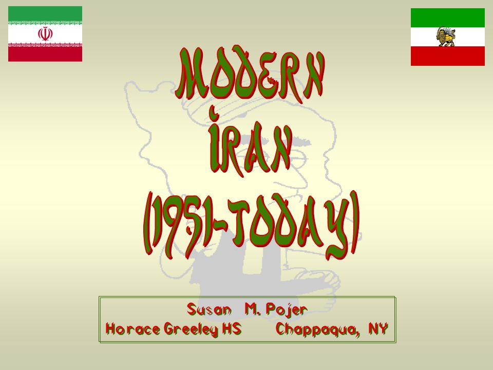 The Geography of Iran
