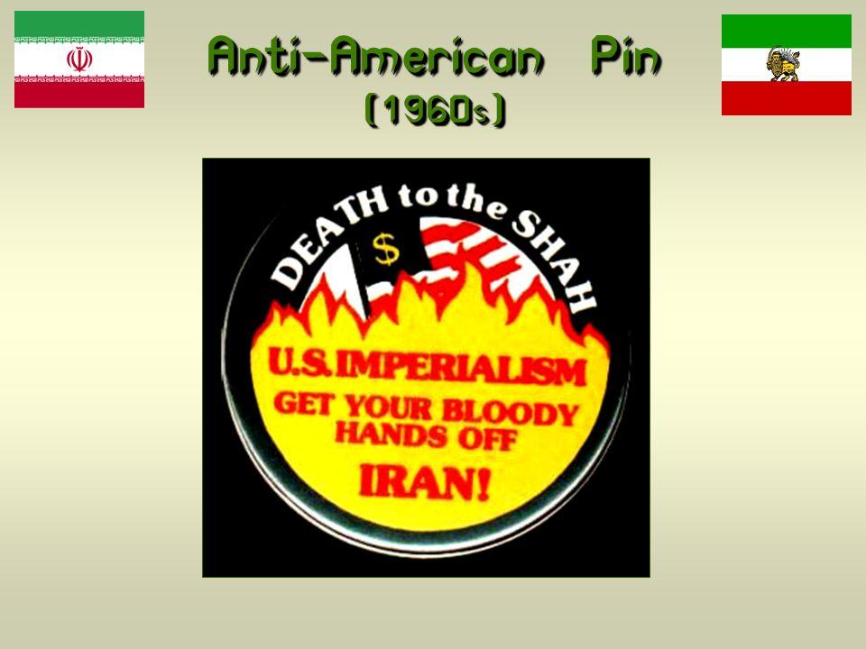 Anti-American Pin (1960s)