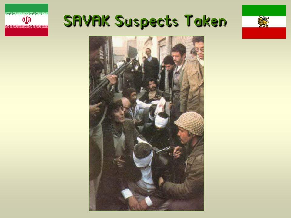 SAVAK Suspects Taken