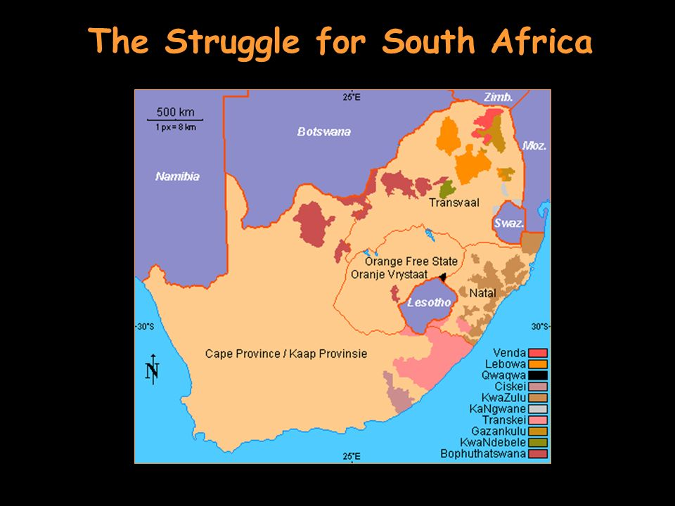 The Struggle for South Africa