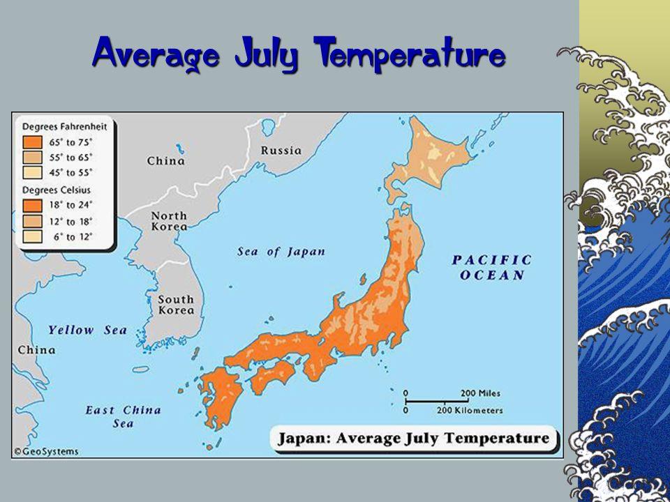 Average July Temperature