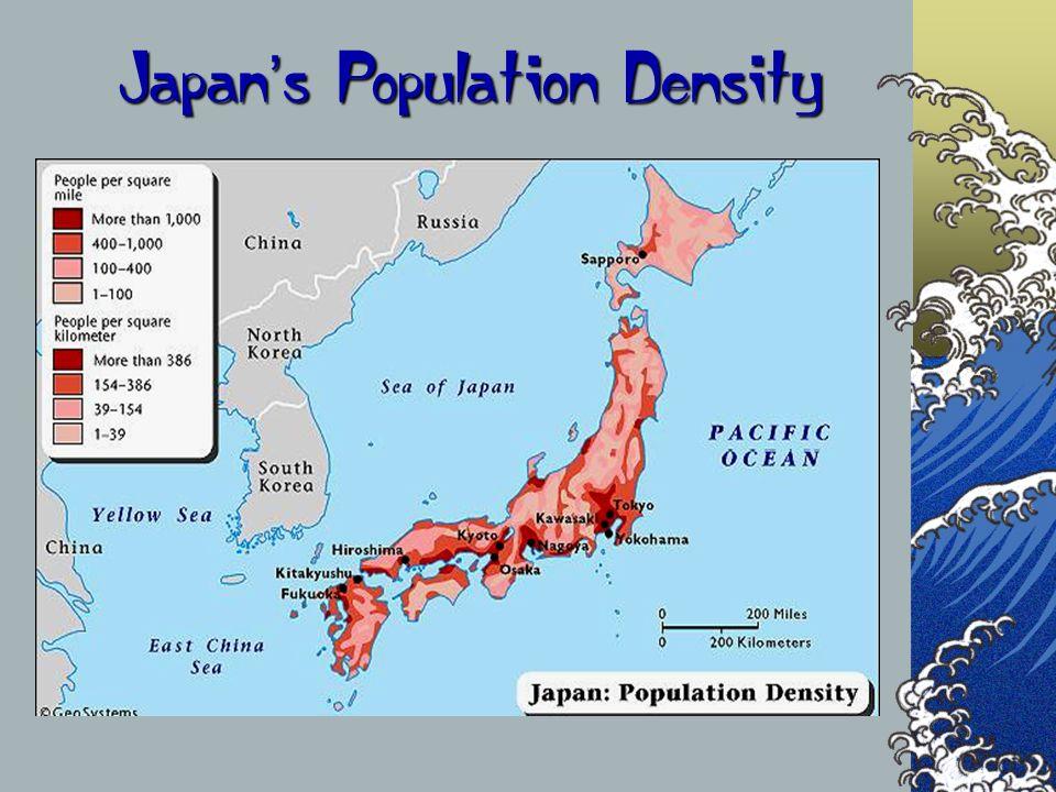 Japan s Population Density