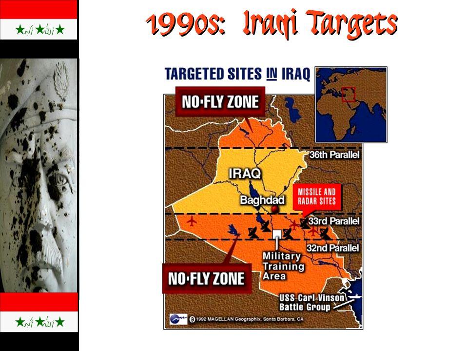 1990s: Iraqi Targets