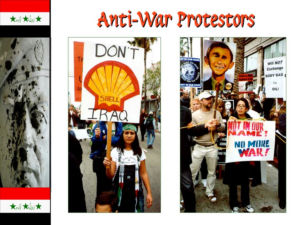 Anti-War Protestors