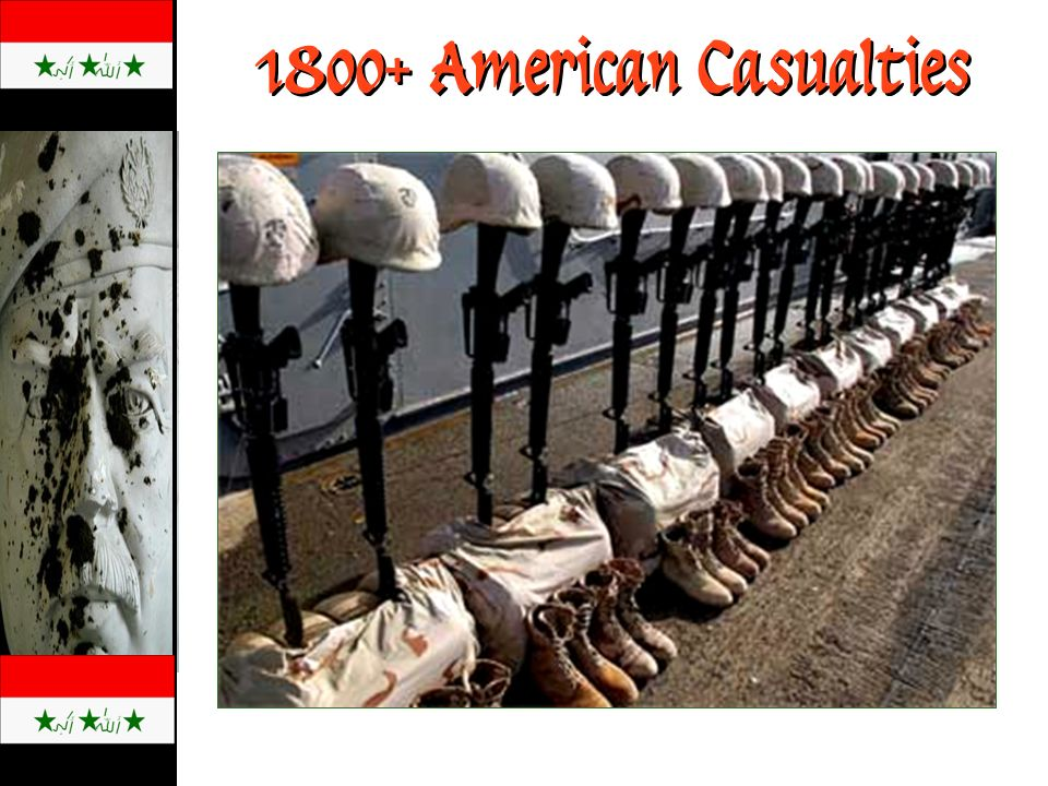 1800+ American Casualties