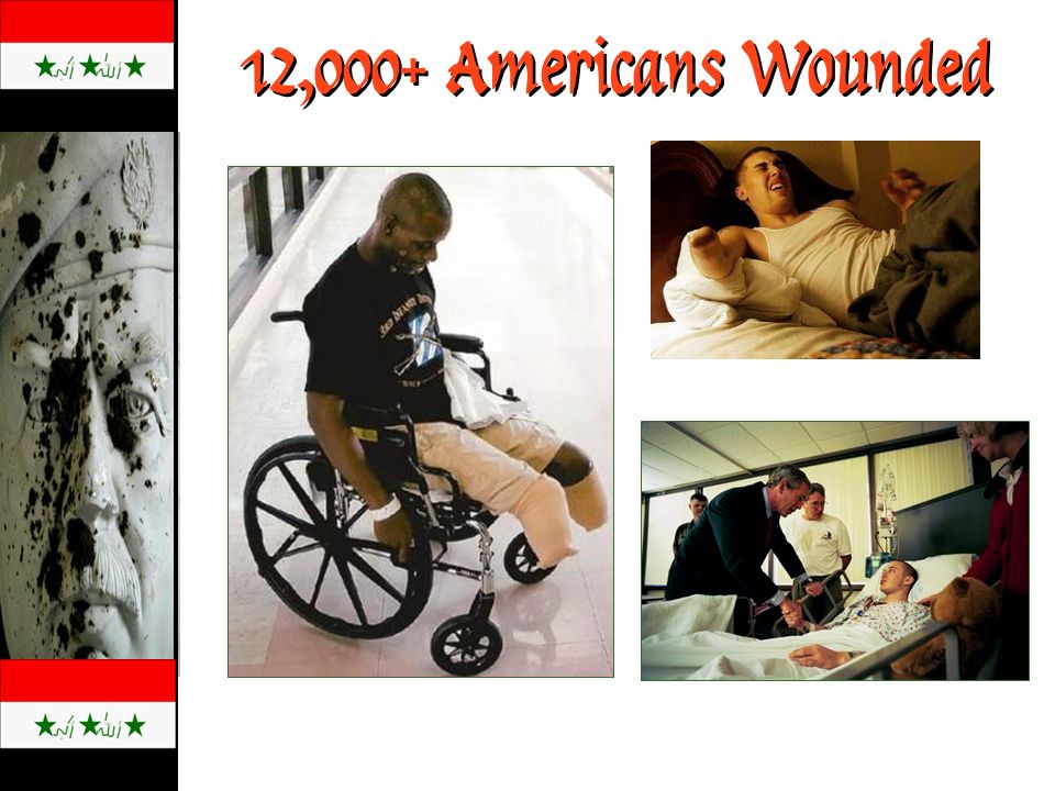 12,000+ Americans Wounded