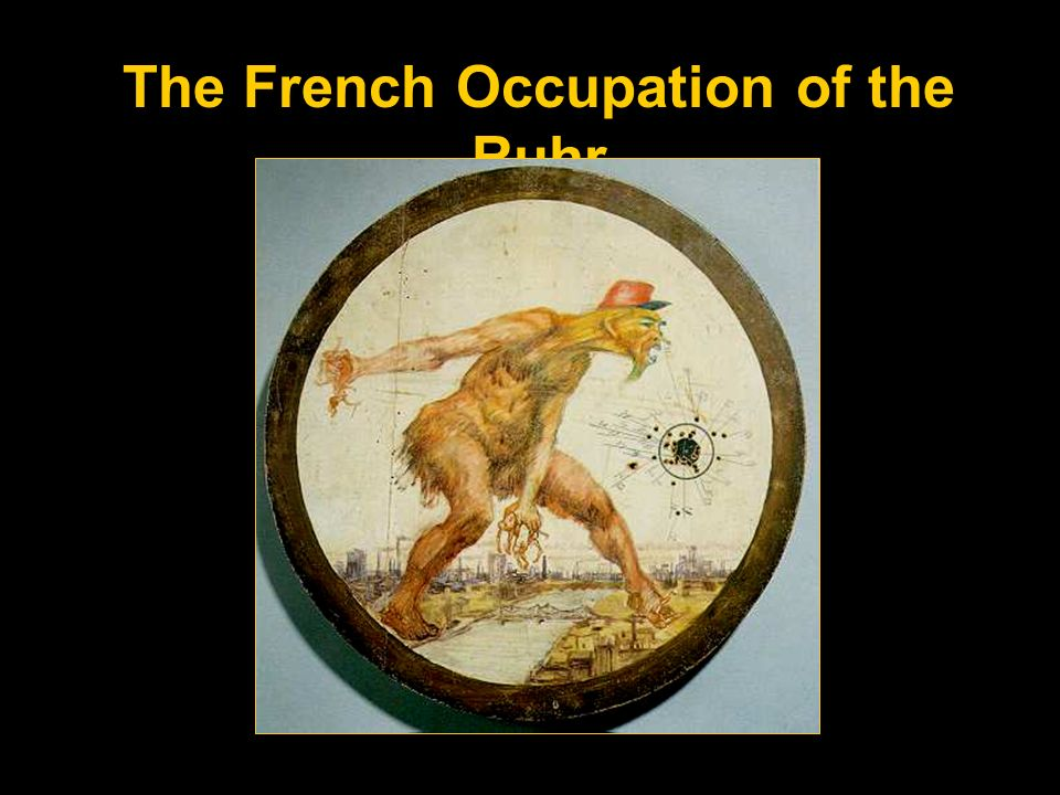 The French Occupation of the Ruhr