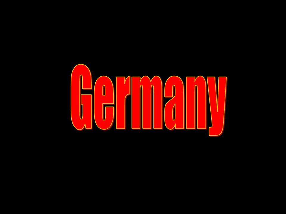From the German Point of View Lostbut not forgotten country.