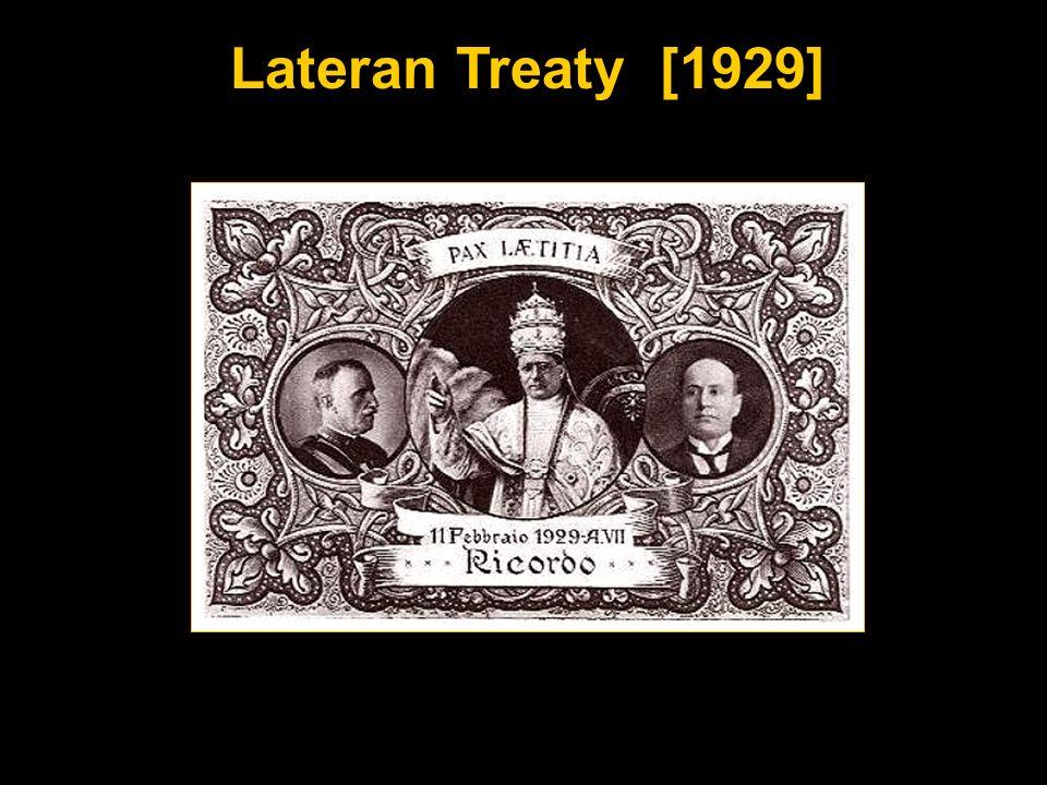 Lateran Treaty [1929]