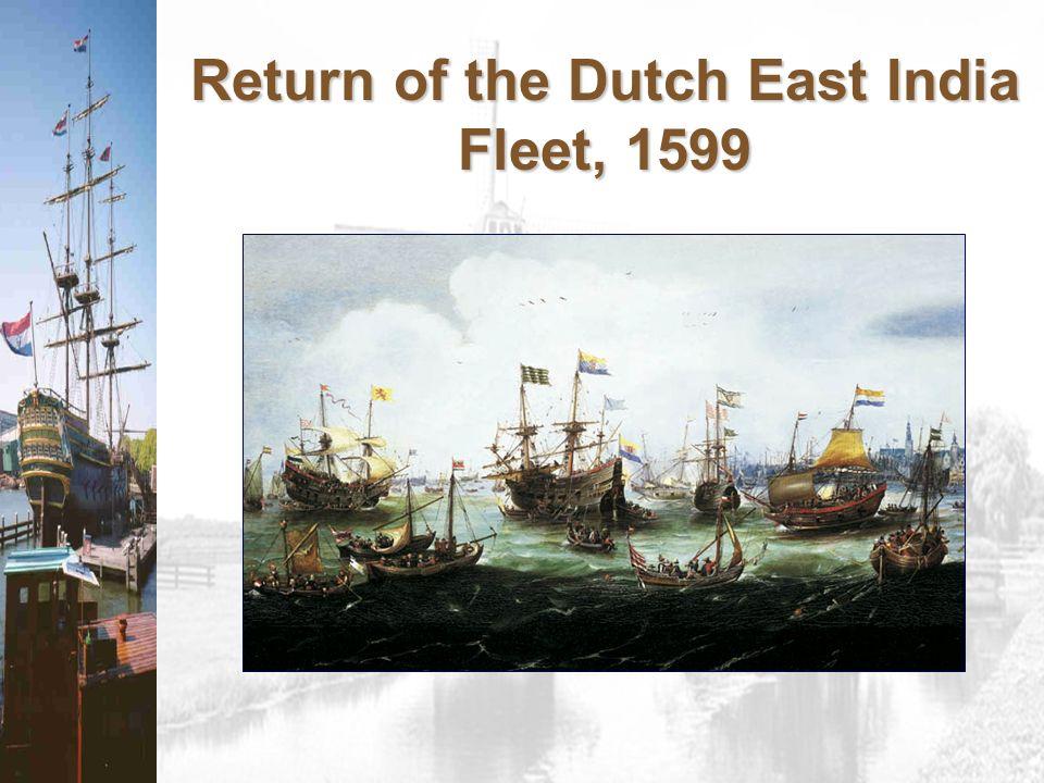 Return of the Dutch East India Fleet, 1599