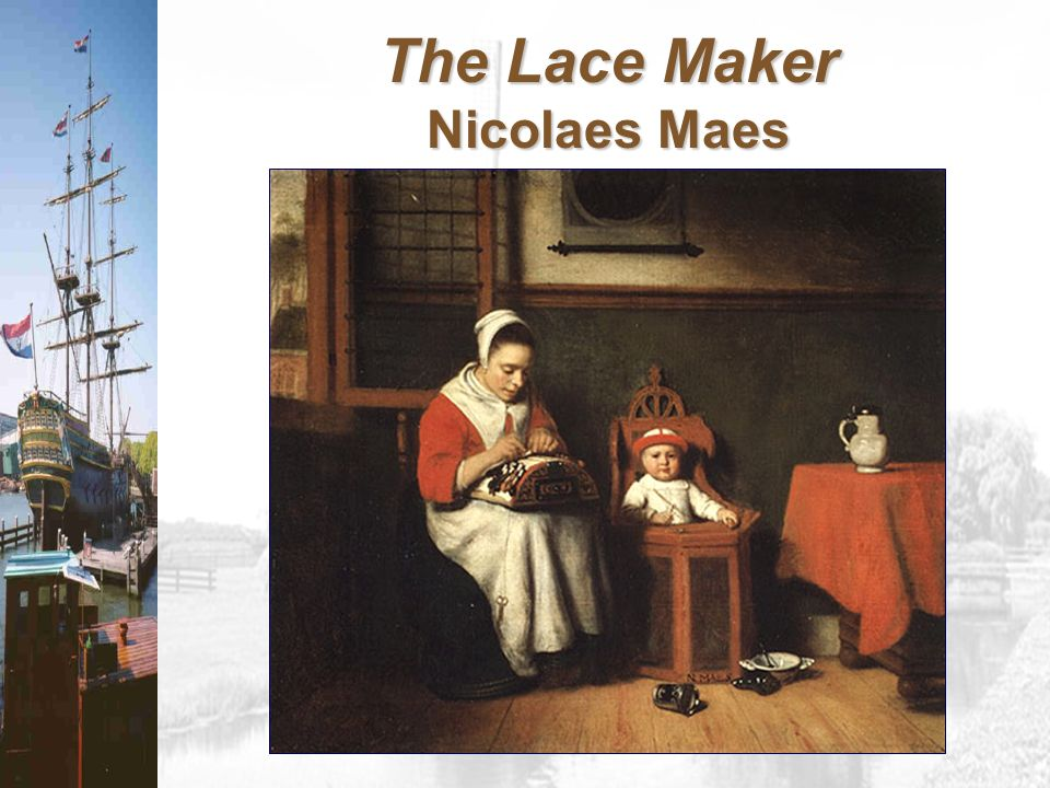 The Lace Maker Nicolaes Maes