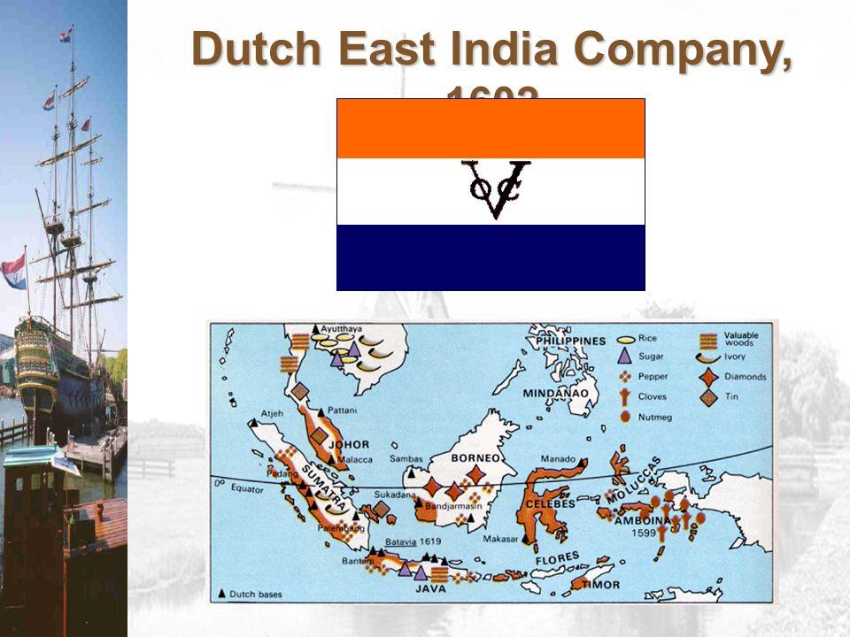 Dutch East India Company, 1602
