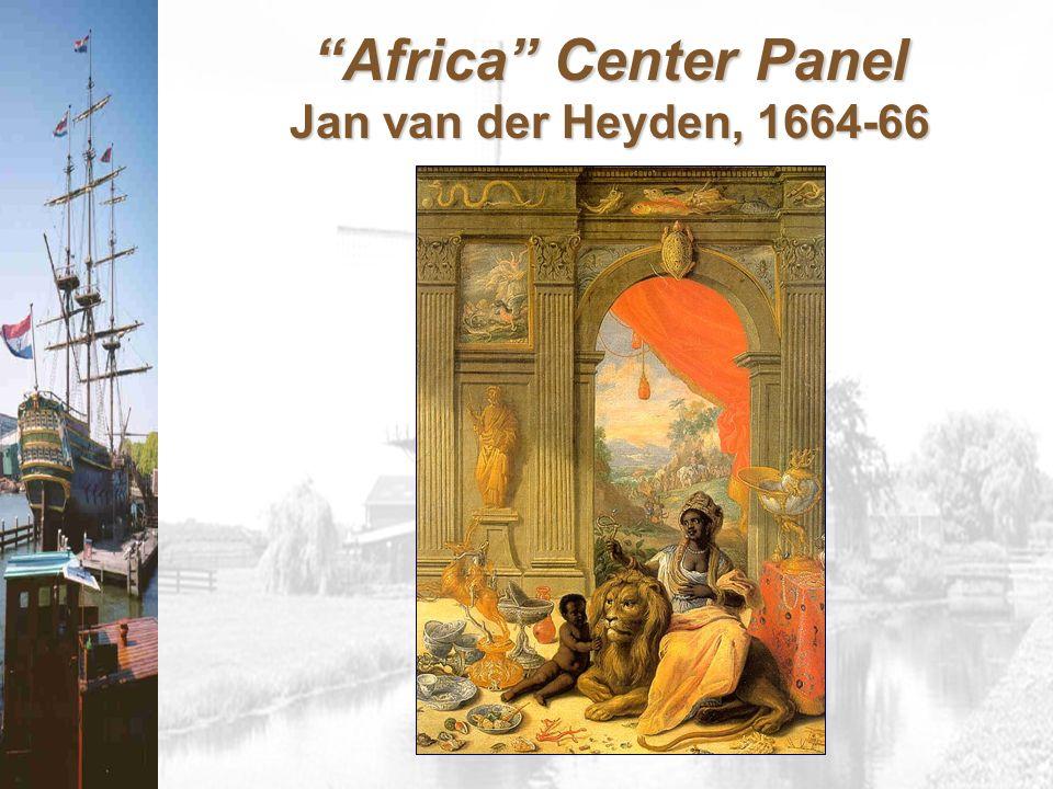 Africa Center Panel Jan van der Heyden, 1664-66