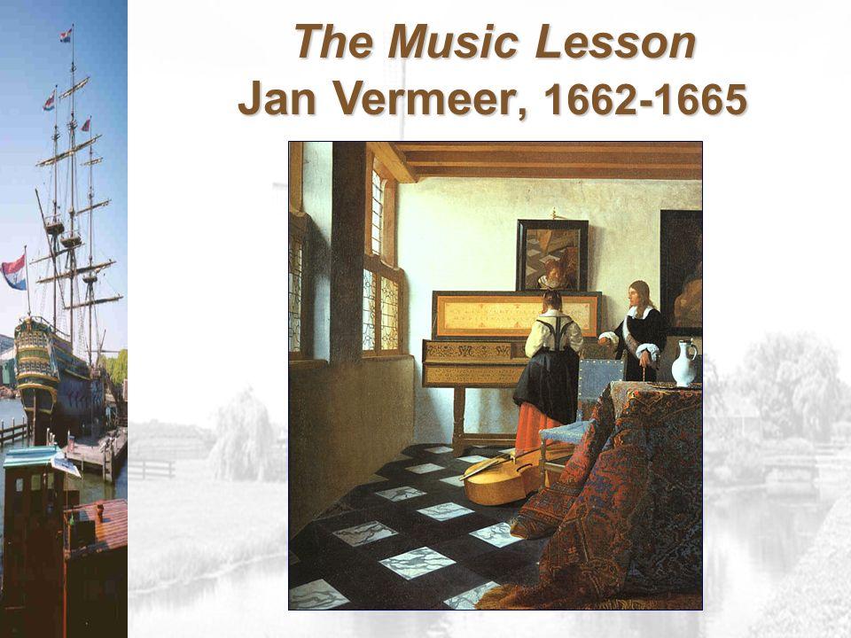 The Music Lesson Jan Vermeer, 1662-1665