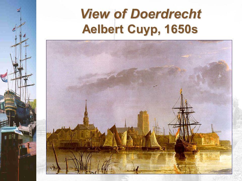 View of Doerdrecht Aelbert Cuyp, 1650s