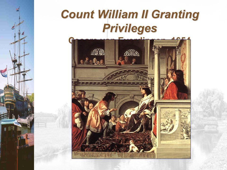 Count William II Granting Privileges Cesare van Everdingen, 1654
