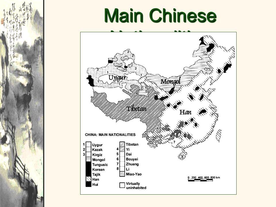 Main Chinese Nationalities
