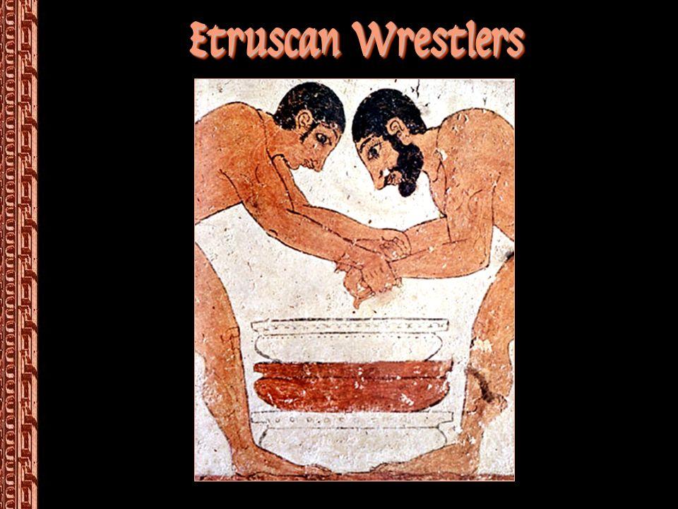 Etruscan Wrestlers
