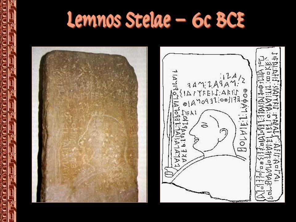 The Etruscan Alphabet