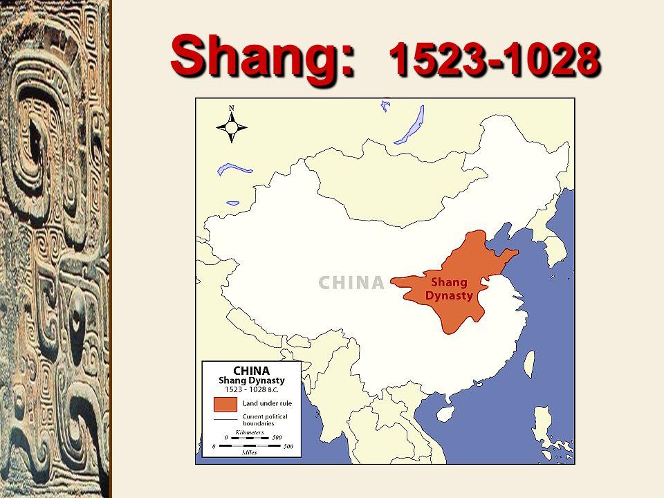Shang: 1523-1028 BCE