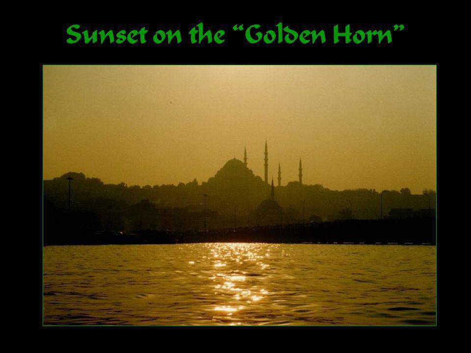Sunset on the Golden Horn