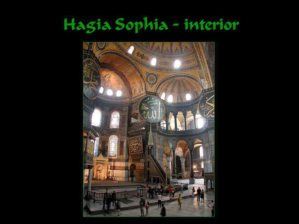 Hagia Sophia - interior