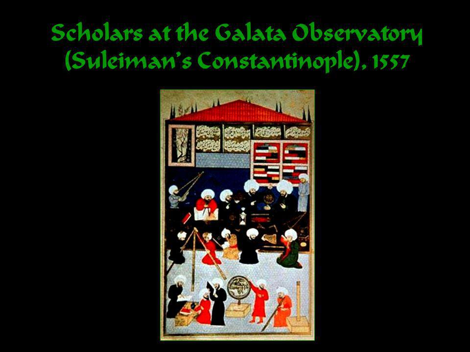 Scholars at the Galata Observatory (Suleimans Constantinople), 1557