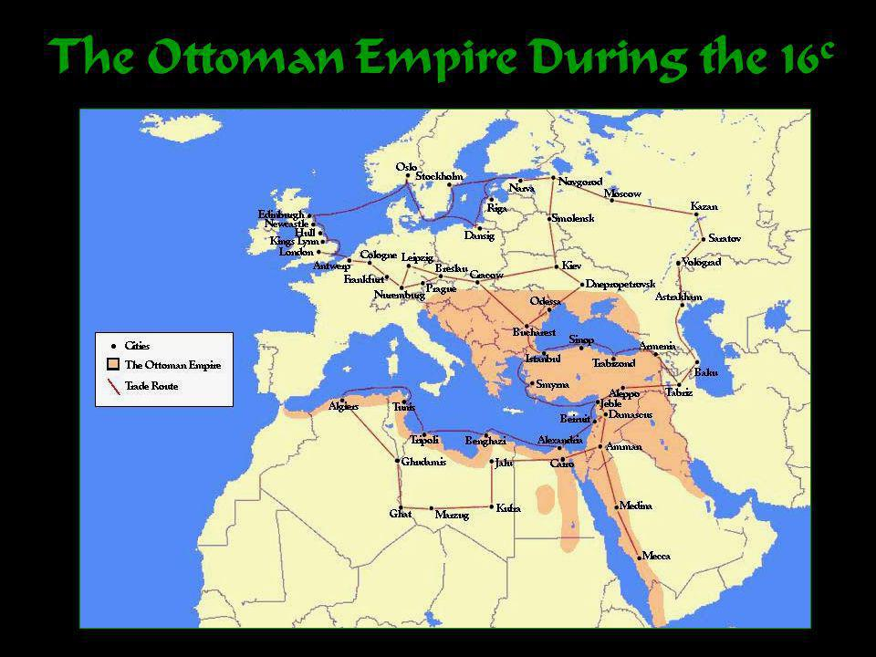 The Ottoman Empire During the 16 c