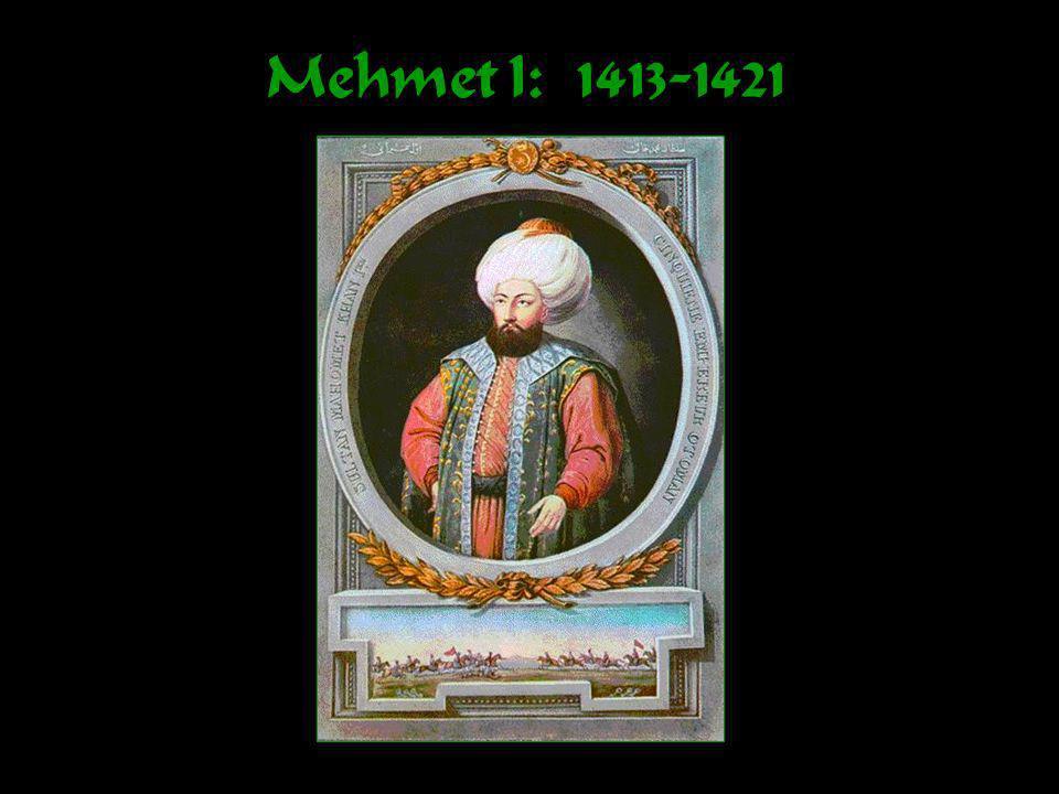 The Ottoman Bureaucracy SULTAN Divans Social / Military Divans Heads of Individual Religious Millets Local Administrators & Military Landowners / Tax Collectors MuslimsJews Christians