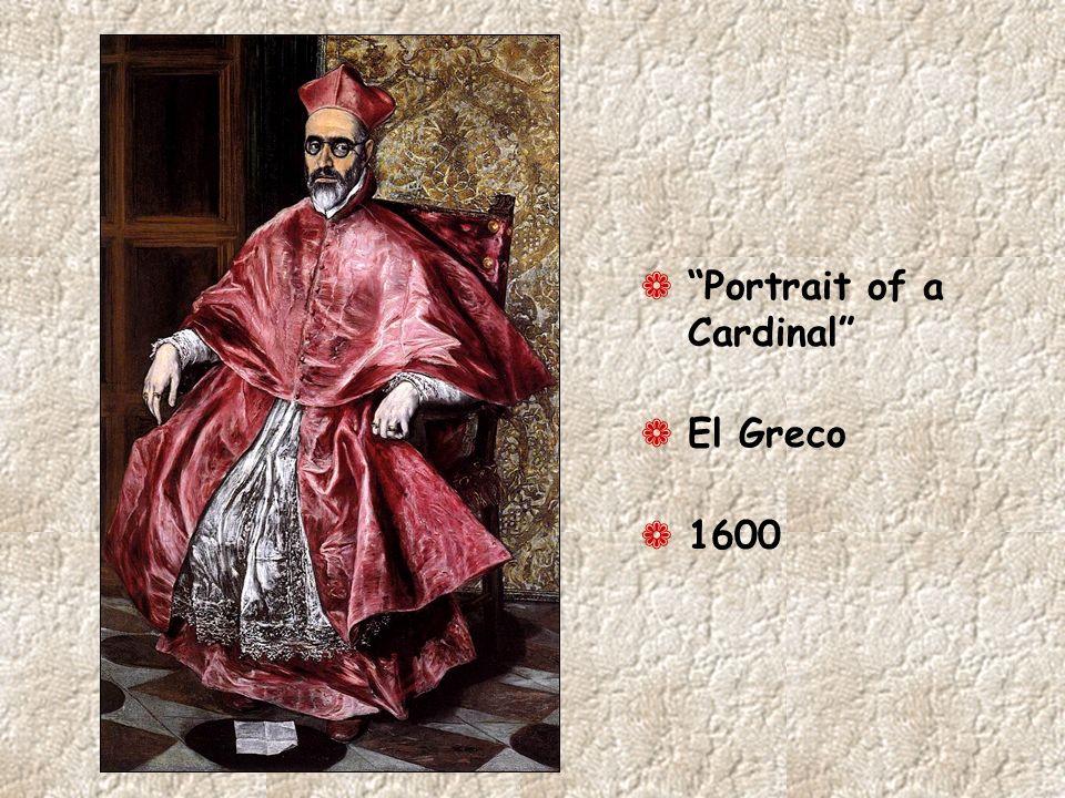¬ Portrait of a Cardinal ¬ El Greco ¬ 1600