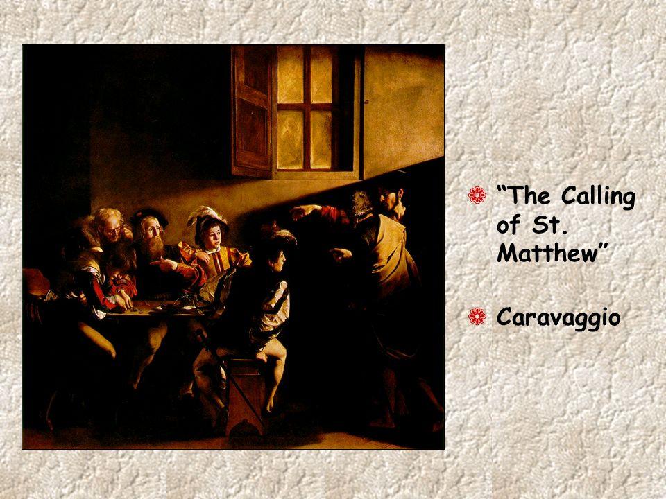 ¬ The Calling of St. Matthew ¬ Caravaggio