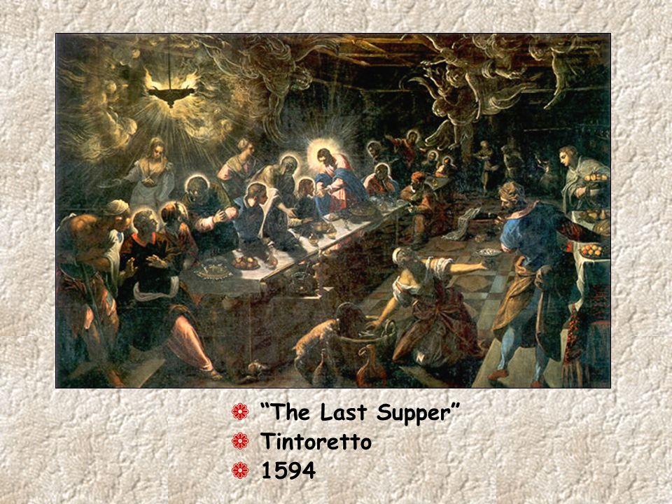 ¬ The Last Supper ¬ Tintoretto ¬ 1594