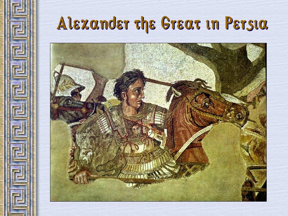 The Breakup of Alexander s Empire
