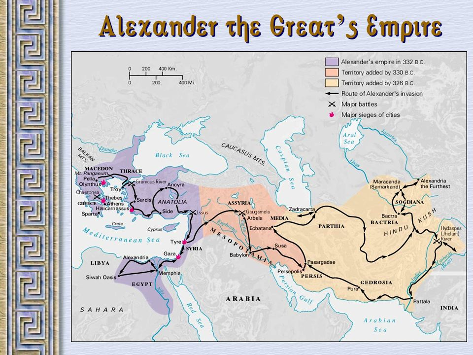 Alexander the Great s Empire