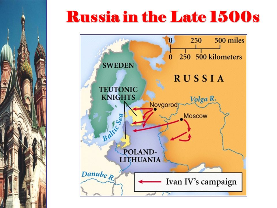 Russia in the Late 1500s