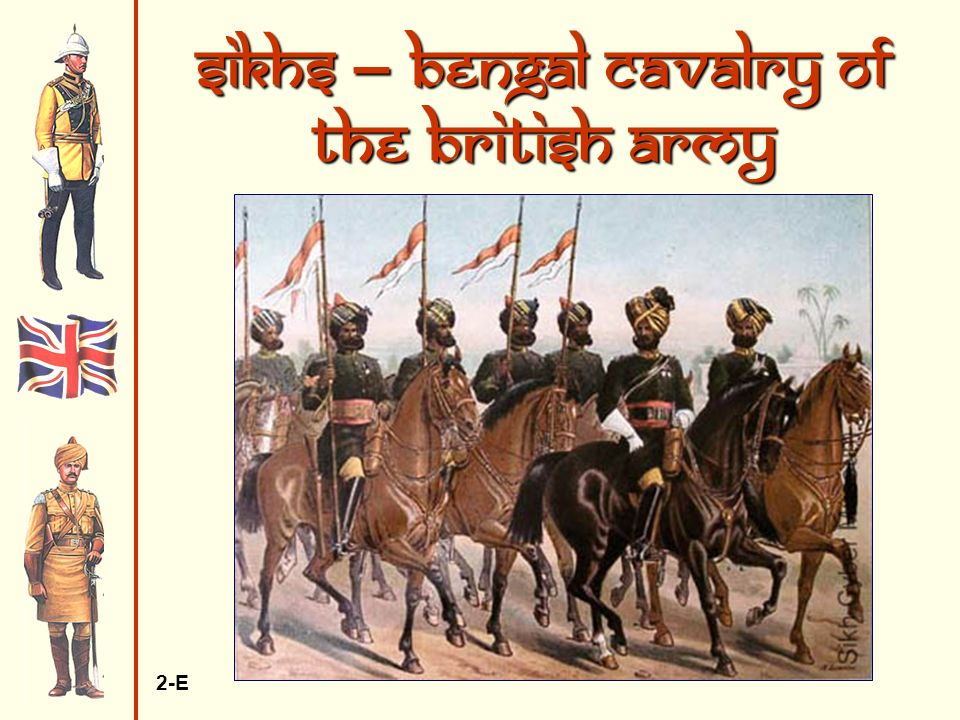 Sikhs – Bengal Cavalry of the British Army 2-E