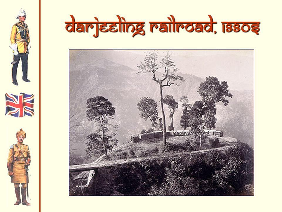 Darjeeling Railroad, 1880s
